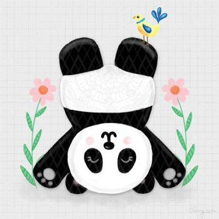 Noonday Design - Tumbling Pandas II