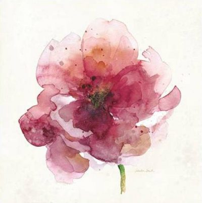 Smith Sandra – Watery Red Bloom 2