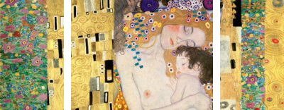 Gustav Klimt – Klimt Patterns The Three Ages of Woman – 3