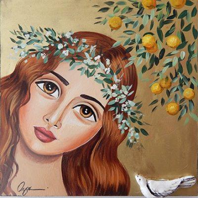 Όλγα – Κοπέλα και λεμονιά