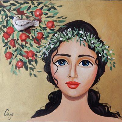 Όλγα – Κοπέλα και ροδιά
