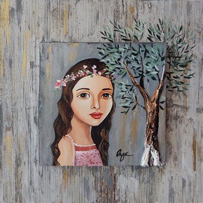 Όλγα – Κοπέλα και ελιά II
