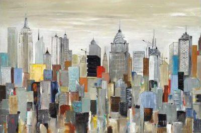 Kadmiri Aziz - New York Skyline