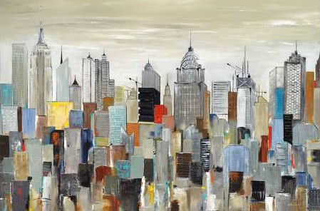 Kadmiri Aziz - New York Skyline