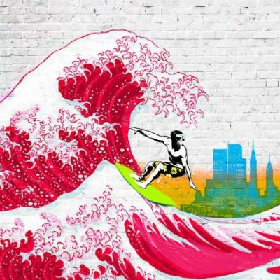 Masterfunk Collective – Surfin NYC (detail)