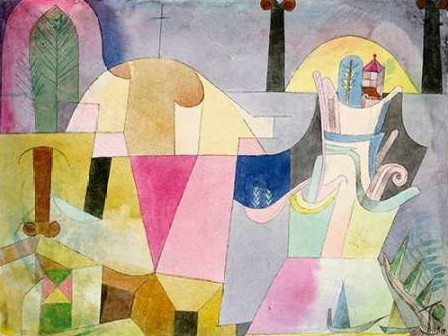 Klee Paul - Black Columns in a Landscape