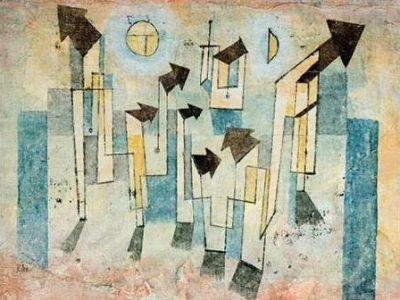 Klee Paul – Mural from the Temple of Longing Thither