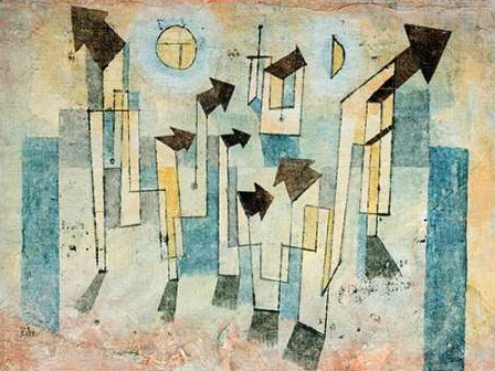 Klee Paul - Mural from the Temple of Longing Thither