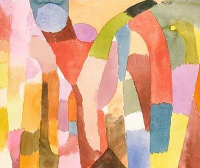 Klee Paul – Movement of Vaulted Chambers
