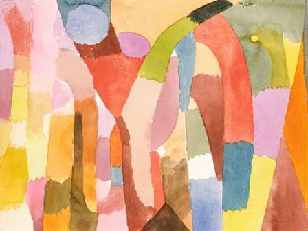 Klee Paul - Movement of Vaulted Chambers