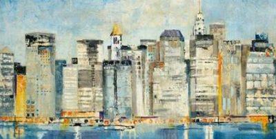 Martin Jill – Waterfront Skyline