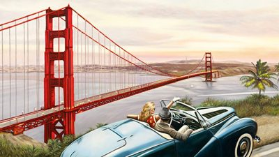 Pierre Benson – Golden Gate View