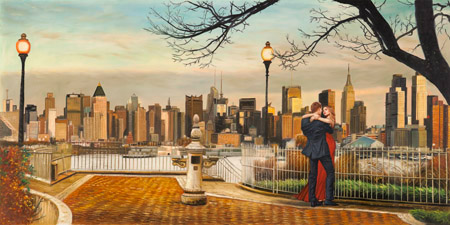 Pierre Benson - Lovers in New York