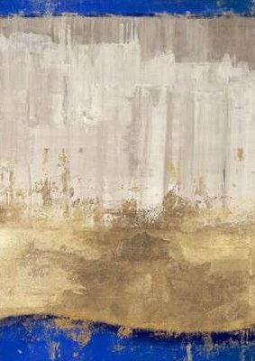 PI Galerie – Indigo Abstract I