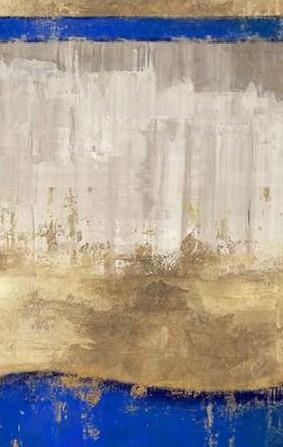 PI Galerie - Indigo Abstract I