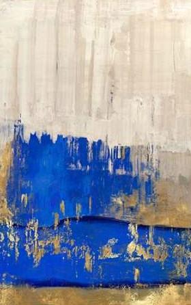 PI Galerie – Indigo Abstract II