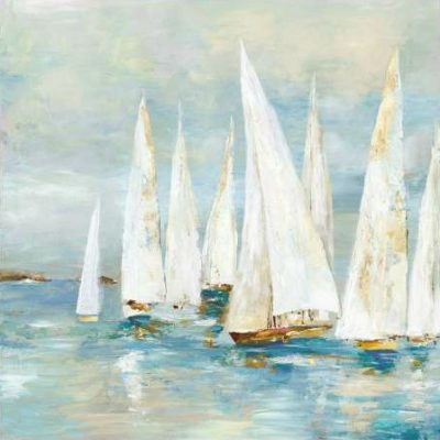 Pearce Allison – White Sailboats