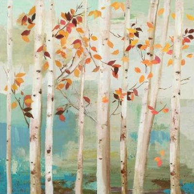 Pearce Allison – Fall Birch Trees