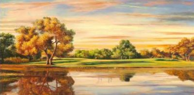 Angelo Masera – Riflessi sul lago