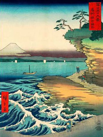 Ando Hiroshige – The Hoda Coast
