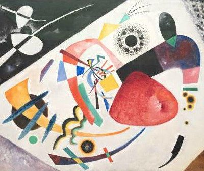 Wassily Kandinsky – Roter Fleck
