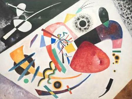 Wassily Kandinsky - Roter Fleck