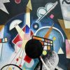 Wassily Kandinsky - A Center (detail)