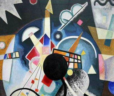 Wassily Kandinsky – A Center (detail)