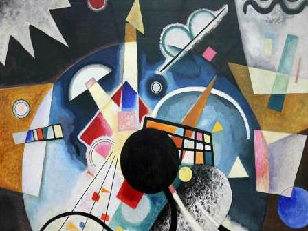 Wassily Kandinsky - A Center (detail)
