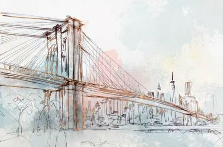Z Isabelle - Blushing Brooklyn Bridge