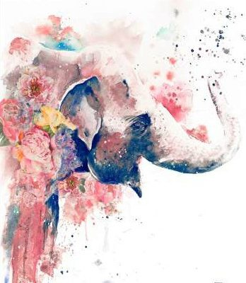 Pinto Patricia – Floral Water Elephant