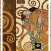 Gustav Klimt – Klimt Patterns The Embrace (Gold) - 3