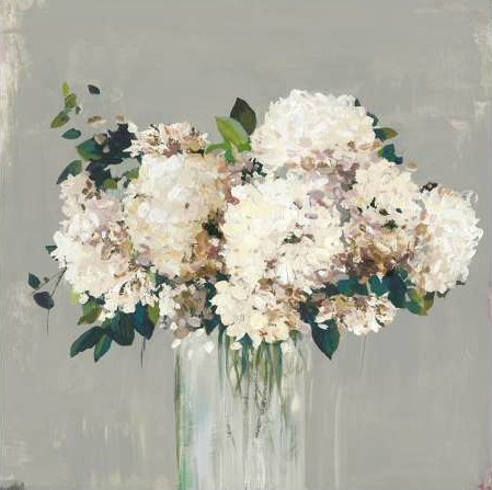 Pearce Allison - White Hydrangea