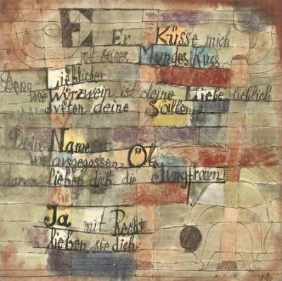 Paul Klee – Version II (From the Song of Songs)