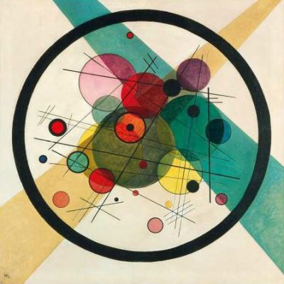 Wassily Kandinsky – Circles in a circle