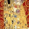 Gustav Klimt - The Kiss (Red variation)