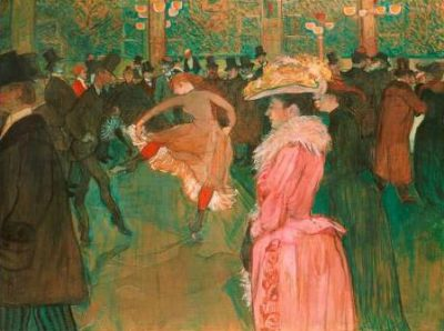 Henri Toulouse Lautrec – At the Moulin Rouge: The Dance