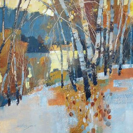 Forsey Chris - Birch Frost and Winter Lake