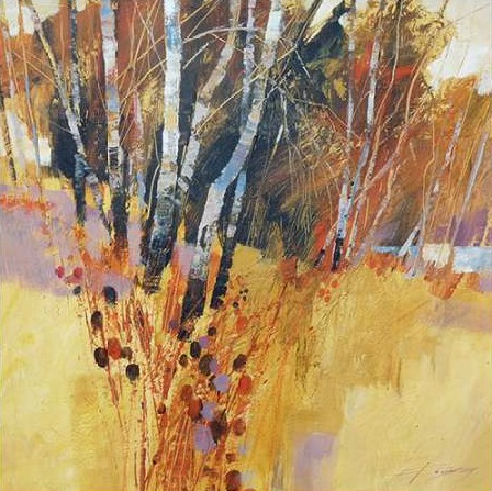 Forsey Chris - Teasels and Birches