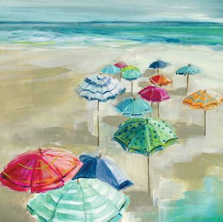 Robinson Carol - Umbrella Beach I