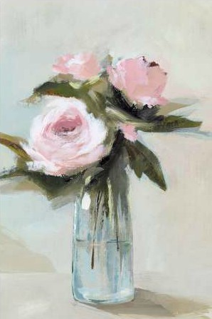Z Isabelle - Peonies in a Vase I