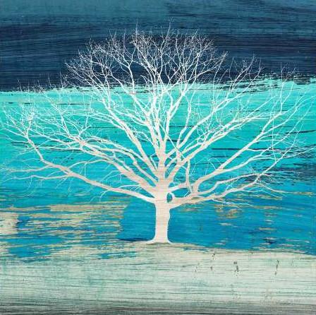 Alessio Aprile - Treescape 3 Azure detail