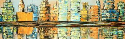 Atelier B Art Studio – Reflections of a colorful city