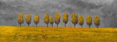 Atelier B Art Studio – Yellow trees in a field