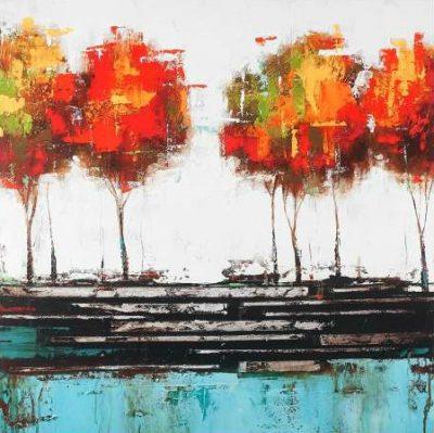 Atelier B Art Studio – Modern style trees