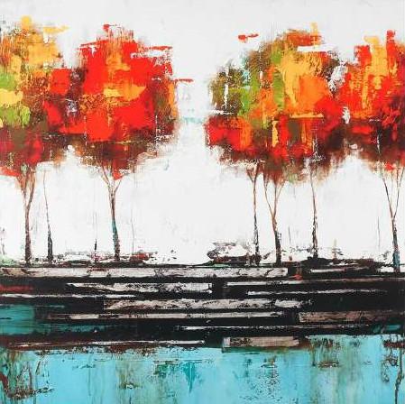 Atelier B Art Studio - Modern style trees