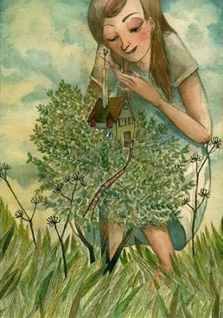 Pilloni Sara – Tale The little girl and the house on the tree