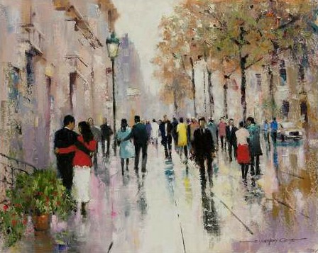 Orme E Anthony - Paris Afternoon II