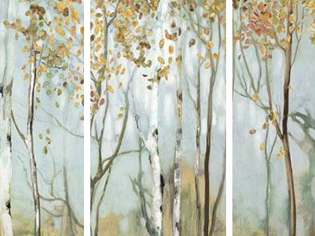 Pearce Allison – Birch in the fog II - 3