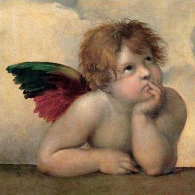 Raffaello – Angelo I Madonna Sistina